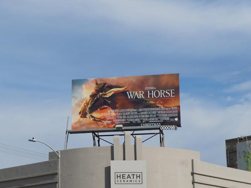 War Horse billboard