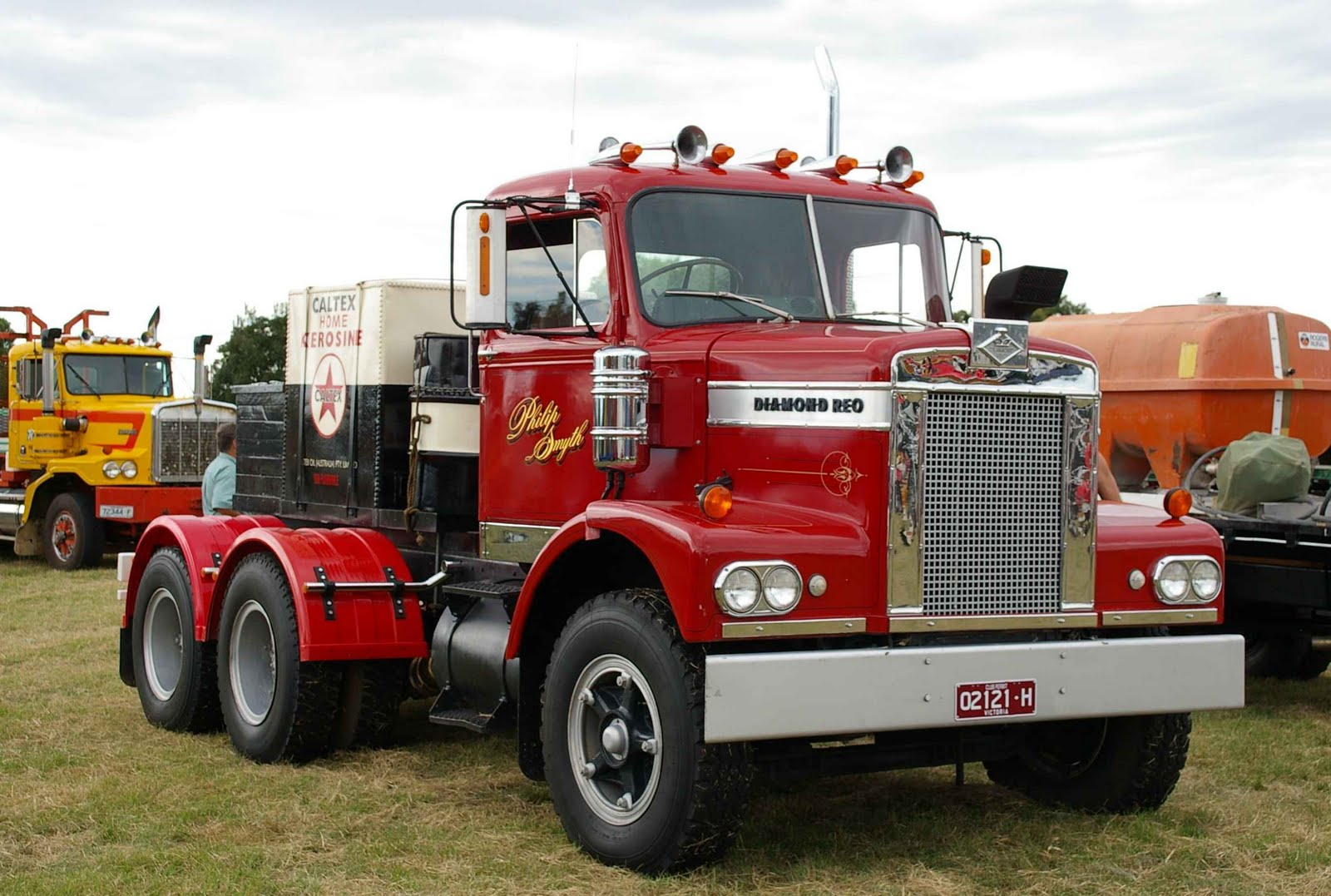 Historic Trucks: HCVC Ballarat Branch Clunes Truck Show 2011 - Part 1