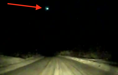 Glowing UFO Spotted Flying Above Canada, UFO Sighting News