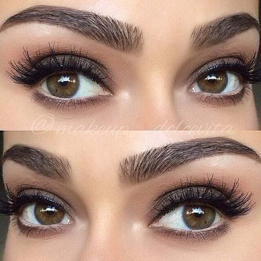 mujer con estilo tutorial para conseguir unas cejas