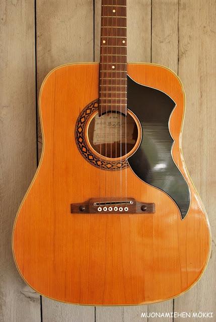 Muonamiehen mökki - 60-luvun kitara