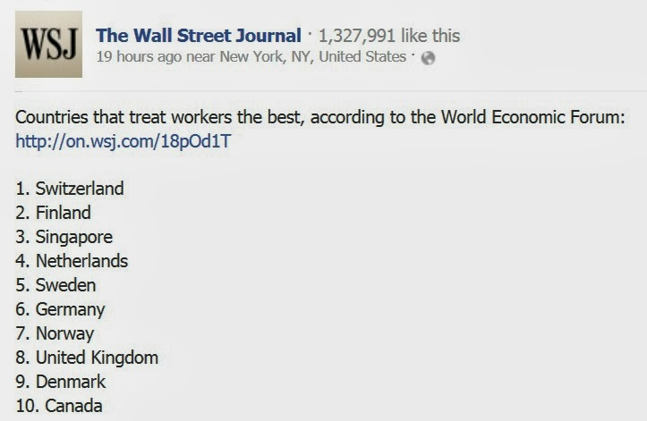 wsj world economic forum singapore ranking