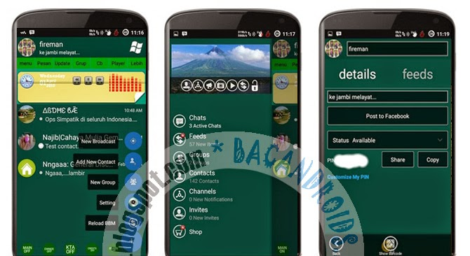 download BBM Mod Cabi Edition Full Features