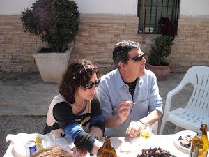 Miguel Sánchez y Paqui Villatoro
