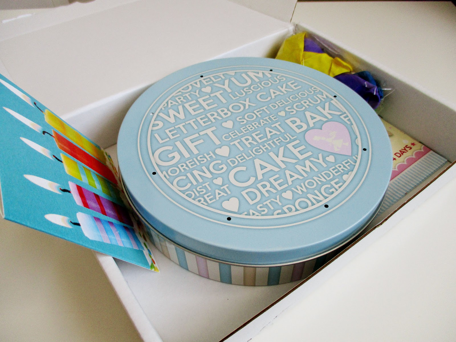 Baker Days Letterbox Cake Review