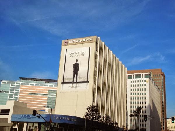 Giant 50 Shades of Grey film teaser billboard