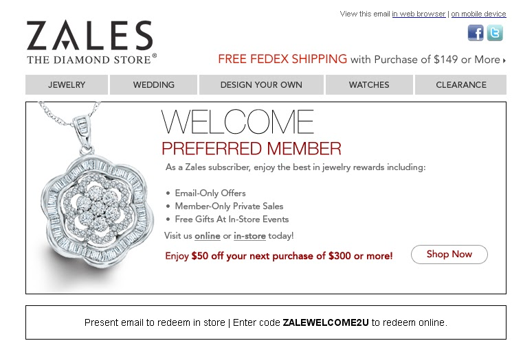 Zales discount coupon