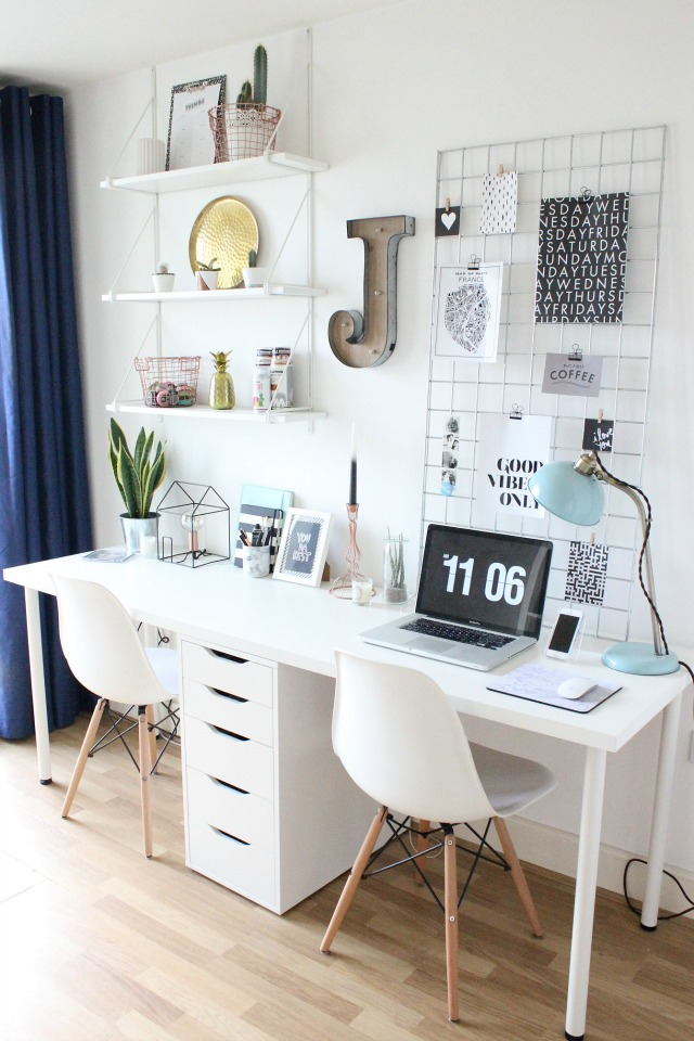 the workspace tour at number 43. Black Bedroom Furniture Sets. Home Design Ideas