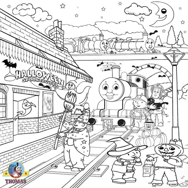 Wendy cartoon ghost nights Halloween kids coloring pages to color in title=