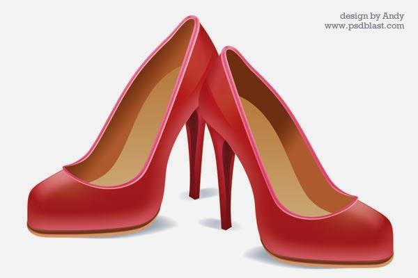 High Heel Shoe Icon PSD