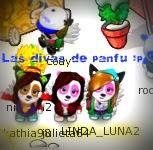 Kathia,Luna, y Julii