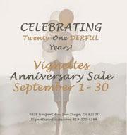 21st Anniversary Sale