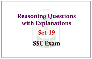 Reasoning Questions with Explanations for SSC
