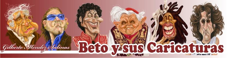 Beto y sus caricaturas