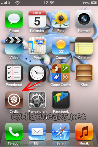 Screenshot 6 Tutorial Cara Jailbreak iOS 6.0, 6.0.1, 6.0.2, 6.1 Untethered Menggunakan Evasi0n