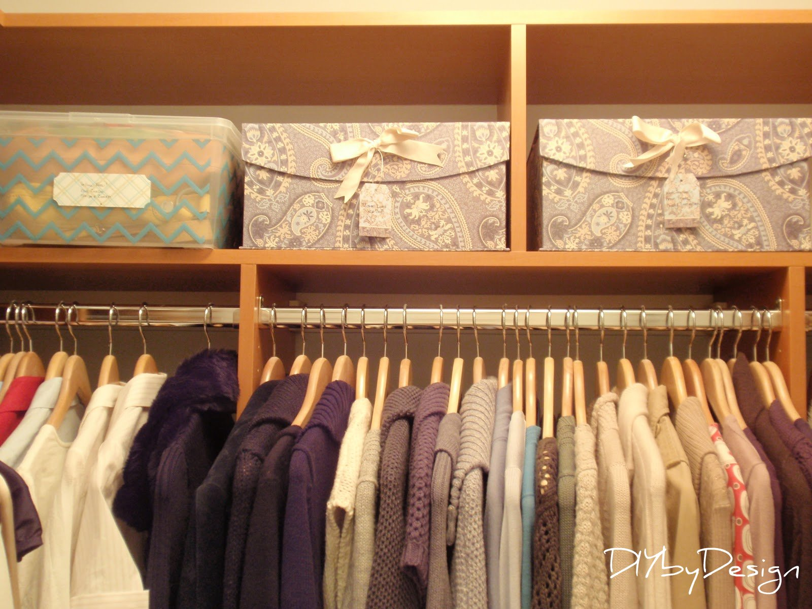 DIY by Design Master Bedroom Closet Reveal