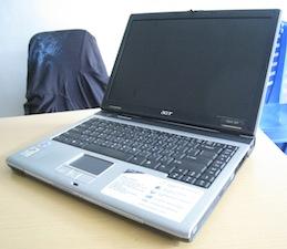 jual laptop bekas acer aspire 5500