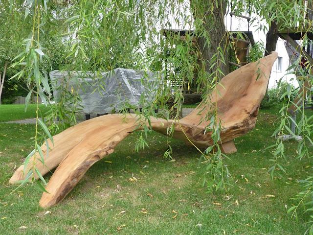 Liegestuhl aus Baum zu verkaufen kaufen