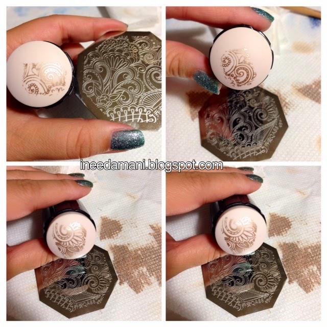 bornprettystore arabesque qa88 nail stamping plate review