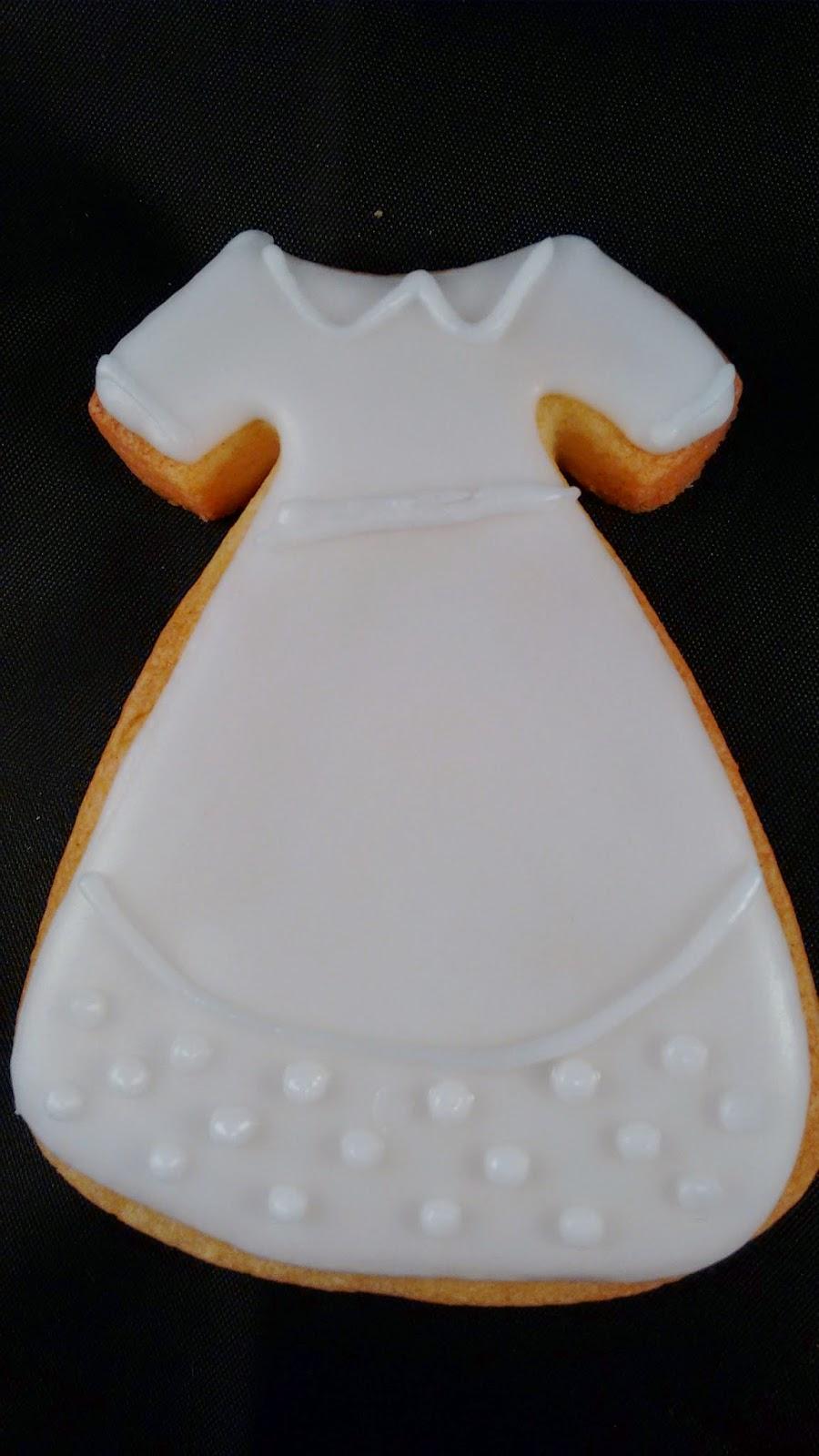 galleta vestido comunion