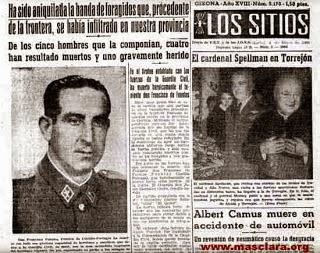 Quico Sabaté no va matar el tinent Fuentes.  Noves dades.