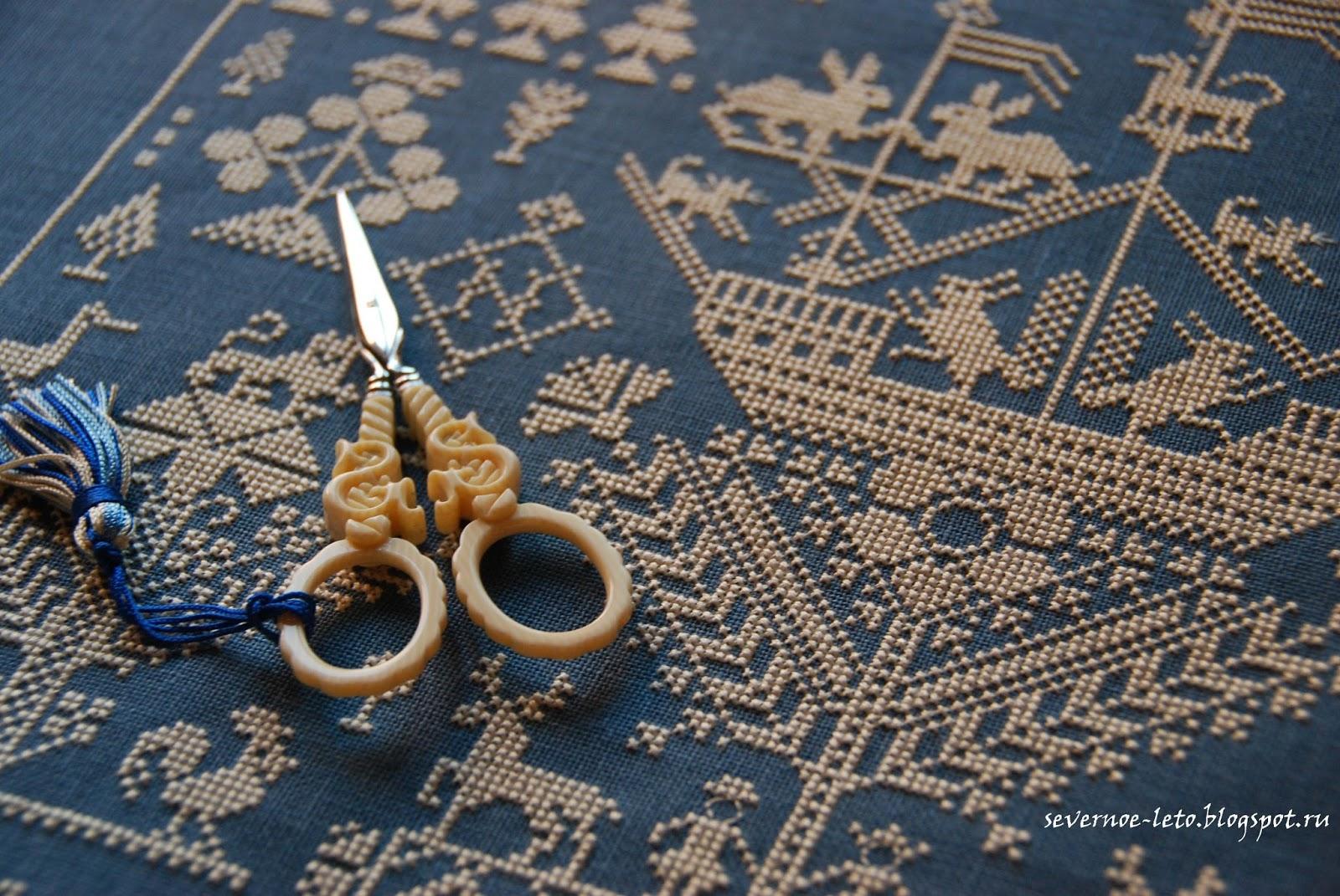 схема для вышивки крестом монохром девушка и единорог