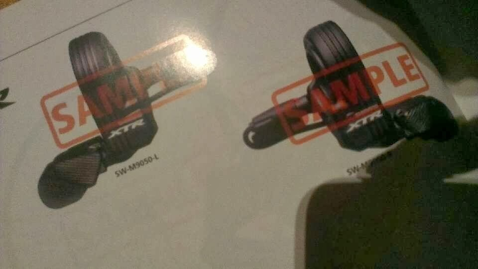 Shimano XTR Di2 SL-M9050