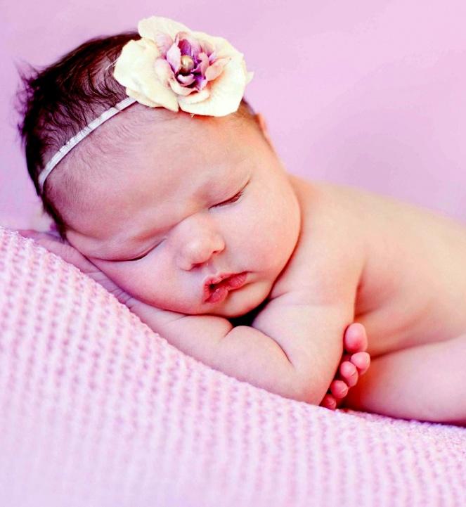 Cute Pink Newborn