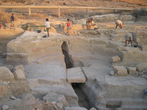 Baños Romanos Fortuna: agua termal monumentalizado del yacimiento Baños Romanos de Fortuna