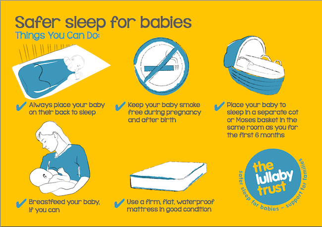 Safer Sleep for babies