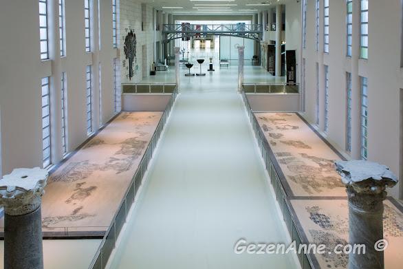 Hatay Arkeoloji Müzesi ortamı