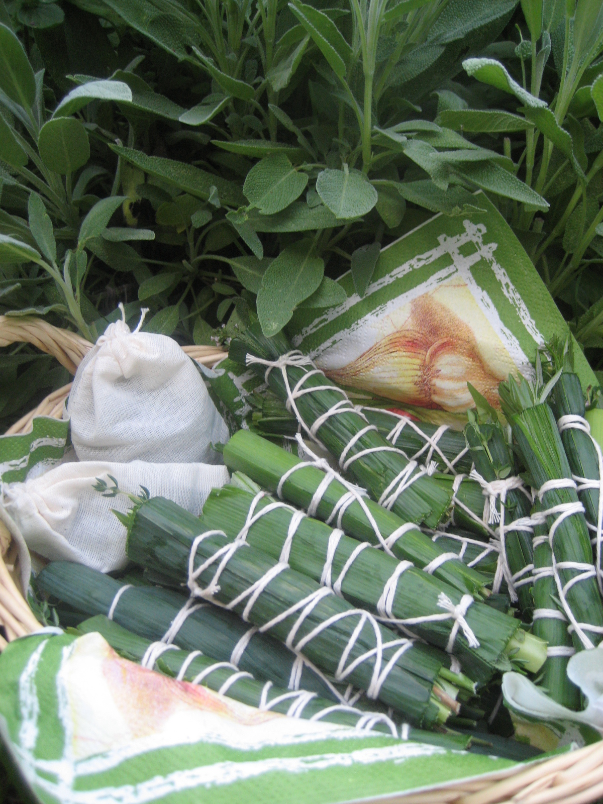 Marie est dans son assiette bouquet garni ou l 39 or vert - Bouquet garni en cuisine ...