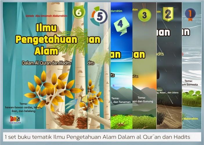 ilmu pengetahuan alam dalam alquran dan hadits tematik untuk tingkat dasar