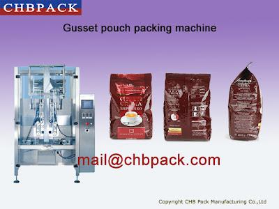 coffee bean packing machine &  filling machine