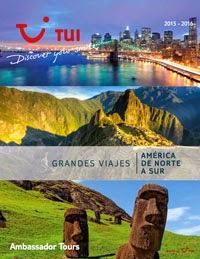 Catálogo de viajes América del Norte y América del Sur