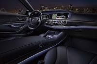 2015 New S-Class Sedan Mercedes Exclusive interior dashboard