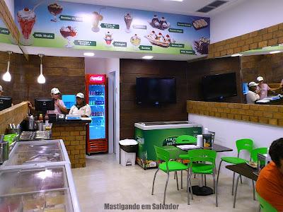 Sorveteria Frutos do Brasil: Ambiente