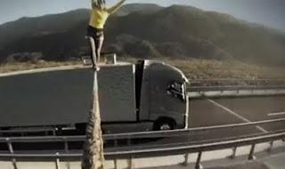 The Ballerina Stunt by Volvo Trucks