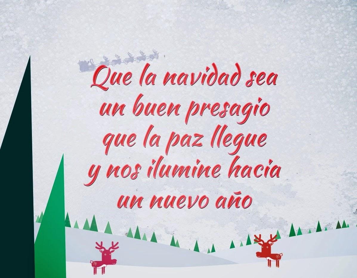 Feliz año nuevo y frases navideñas