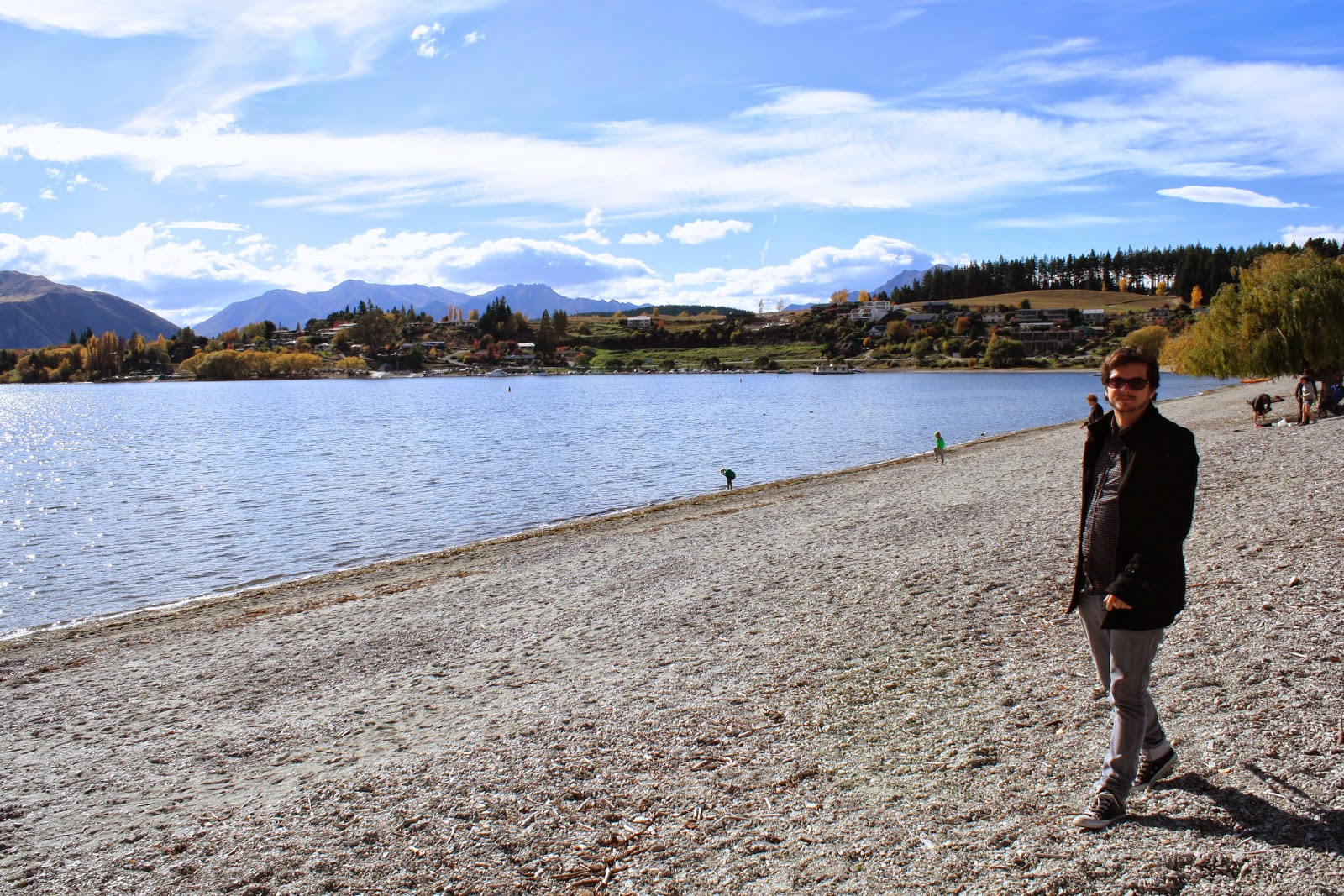 Jesse at Lake Wanaka.