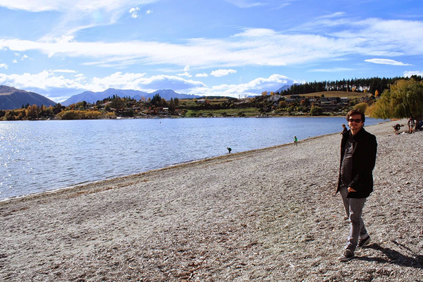 Jesse at Lake Wanaka.