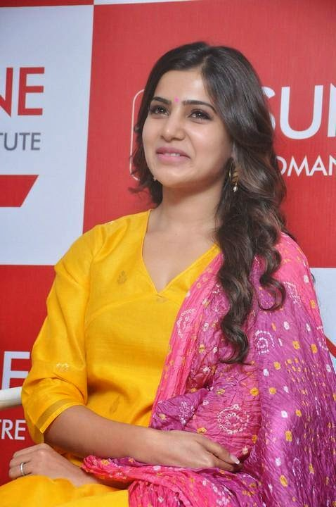 Samantha At Sunshine Woman And Child Center Launch Pics
