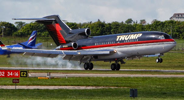 Lagos Guru!: Donald Trump's plane and helicopter