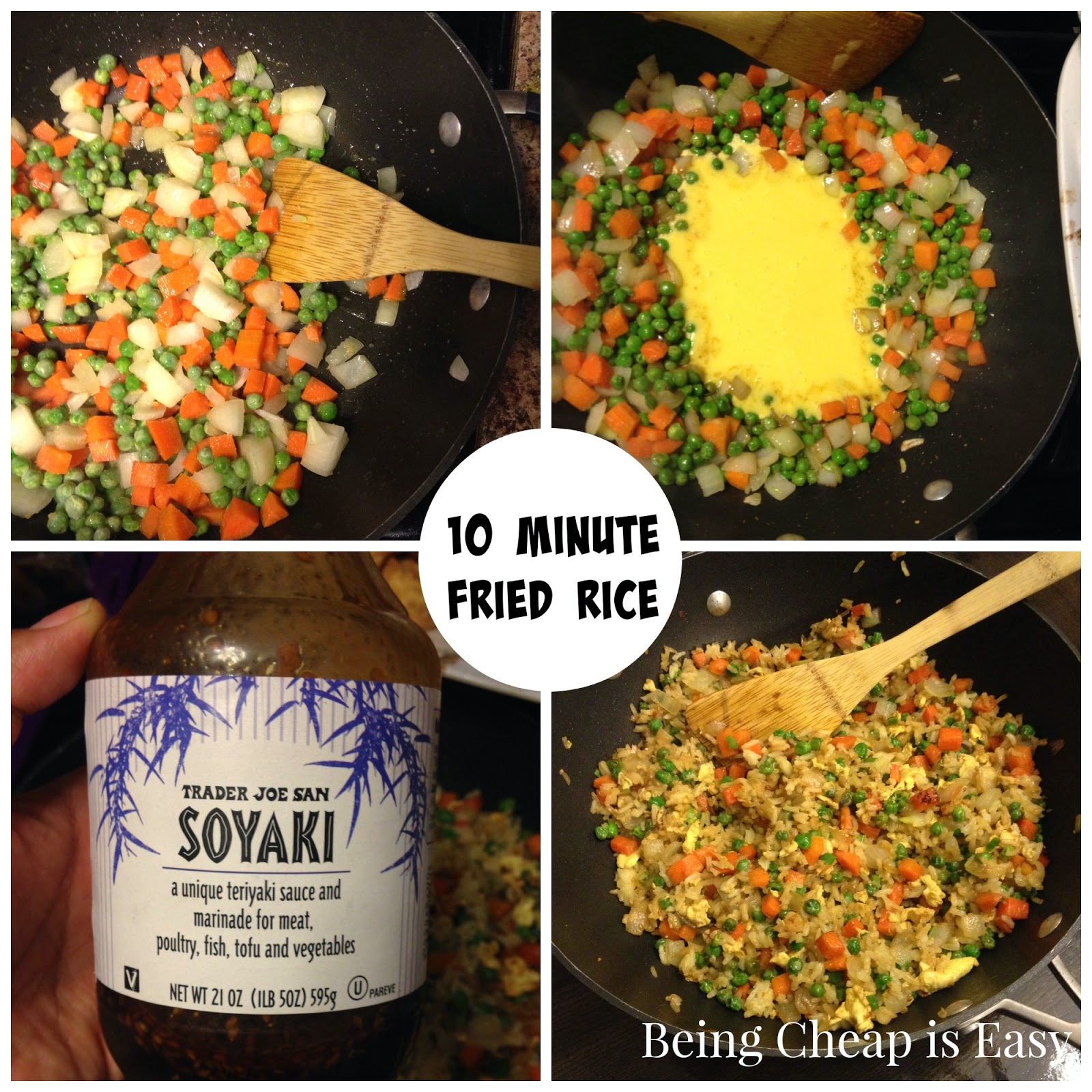 Fried Rice, MYO Takeout, Trader Joe's Soyaki, Simple Suppers, Healthy Dinners, Chinese Food