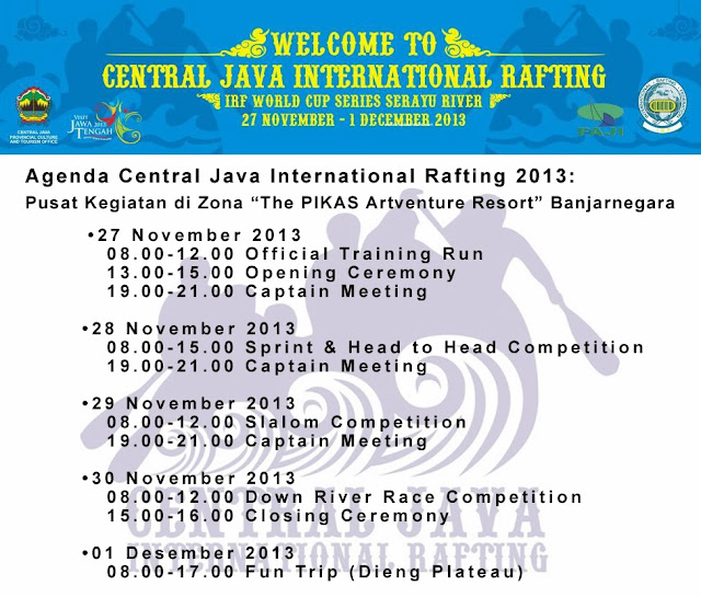 Central Java International Rafting - International Whitewater Rafting Champs