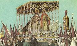 Cromos de 1884-Semana Santa.