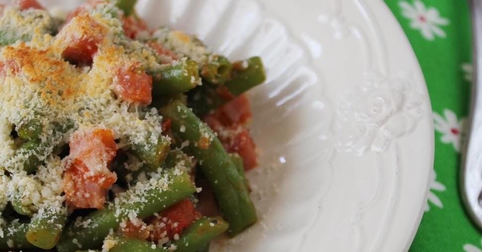 Cocinando entre olivos jud as verdes a la italiana - Como preparar las judias verdes ...