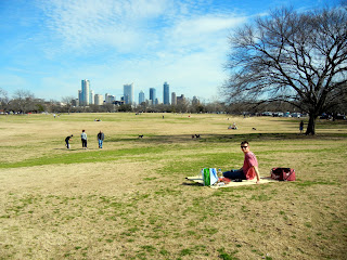 A picnic with a view at Zilker Park!