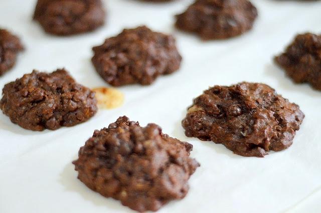easy healthy banana cookies