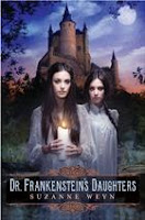 book cover of Dr. Frankenstein's Daughters by Suzanne Weyn
